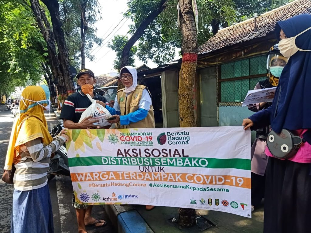 aksi sosial oleh ketua PDA Kabupaten Mojokerto