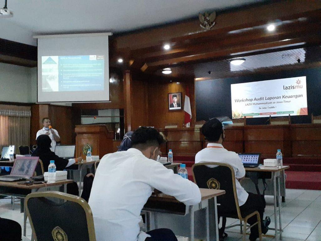Workshop Audit Laporan Keuangan Lazismu